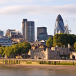 Modern London cityscape — Stock Photo #3161598