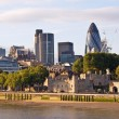 Stock Photo: Modern London cityscape