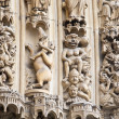 Fragment of Notre Dame de Paris — Stock Photo #3161626