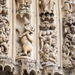 Fragment of Notre Dame de Paris — Stock Photo