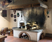Ancient kitchen — Stock Photo