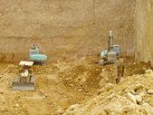 Excavaton work — Stock Photo