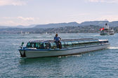 Zurich water bus — Stock Photo