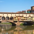 Old bridge in Florence - Stok fotoğraf