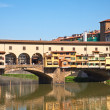 Stock Photo: Old bridge in Florence