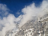 Winter in the alps — Stok fotoğraf