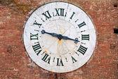 Oude klok — Stockfoto