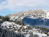 зима в альпах — Стоковое фото
