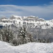 Winter in the alps - Foto Stock