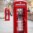 Red telephone booth in London — Stock Photo #3774063