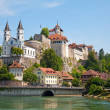 Aarburg castle - Stock Photo