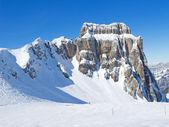 Skiing slope — Stock fotografie