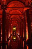 турция. стамбул. подземные базилика — Стоковое фото