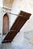 Porte d'entrée de château — Photo