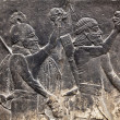 Ancient Assyrian wall carvings — Stock Photo #3784479