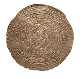 Ancient coin — Stock Photo