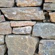 Cemetery Rock Wall — Stock Photo