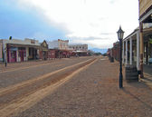 Street View of Tombstone Arizona — Stock Photo