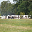 Stock Photo: Civil War Re-enactment - Rebel Camp