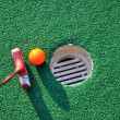 Stock Photo: Miniature Golf