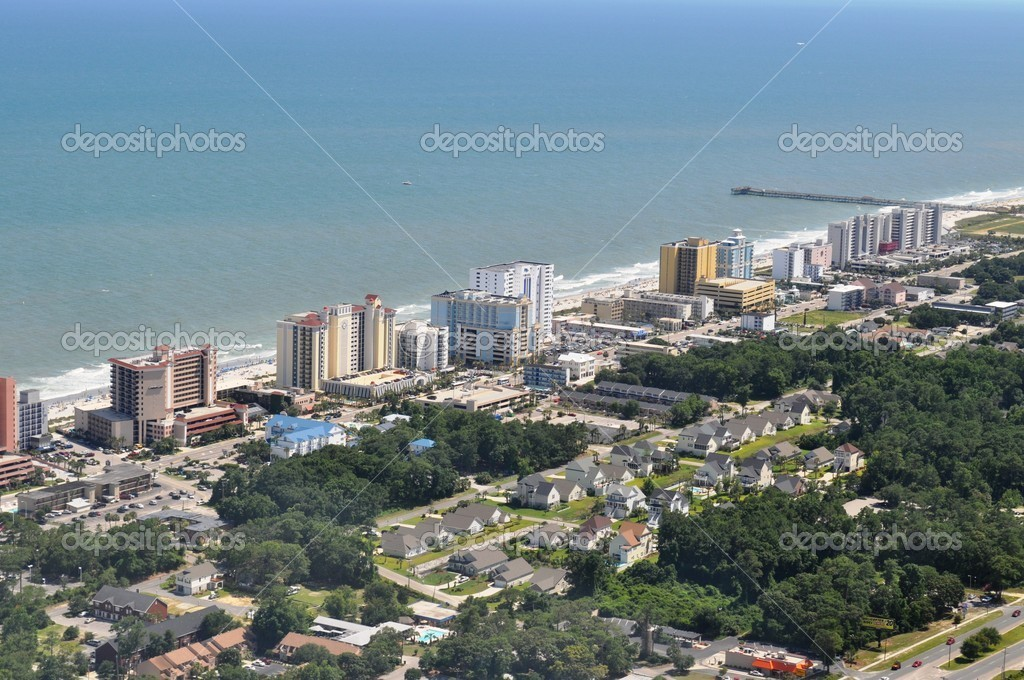 Myrtle Beach - Aerial View  Stock Photo #4600653