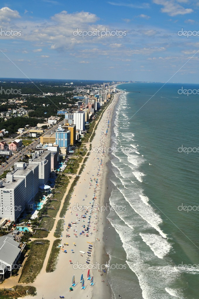 Myrtle Beach - Aerial View  Stock Photo #4600667