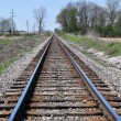 Train Tracks in the midwest — Stock Photo