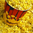 Popcorn Tub — Stock Photo
