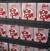 Popcorn Boxes — Stock Photo