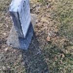 Cemetery Headstone Background — Stock Photo