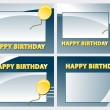 Happy birthday — Imagen vectorial