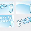 Royalty-Free Stock Vectorielle: Milk
