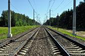 Rails — Stock Photo