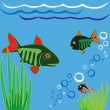 Stock Vector: Fishes.