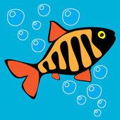 Fischen. — Stockvektor