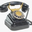 Stock Photo: Vintage phone with disc dials