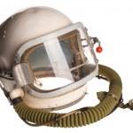 White russian soviet red army aviator helmet isolated — Stock Photo #3045112