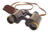 Vintage Russian Soviet Red army binocular. — Stock Photo