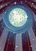 Supernova Disco Ball — Stock Photo