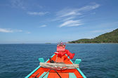 Longtail Boat - Thailand — Stock Photo