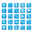 Stock Vector: Iconset Markets