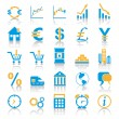 Exchange Marketplace Icons — Stock Vector #3561312