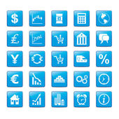 Iconset Markets — Stock Vector