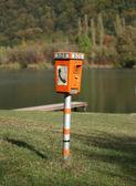 Emergency telephone — Stock Photo