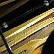 Royalty-Free Stock Photo: Inside grand piano