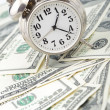Stock Photo: Time - money. Business concept.