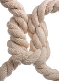 Cord with knot. — Stock Photo