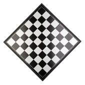 Chessboard the top view. — Stock Photo