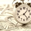 Time - money. Business concept. — Stock Photo #3494660