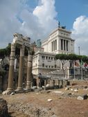 Columns on Rome Forum — Stock Photo